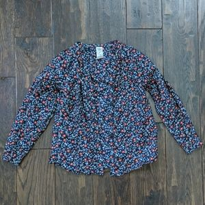 3/$15 Oshkosh Floral Button Shirt